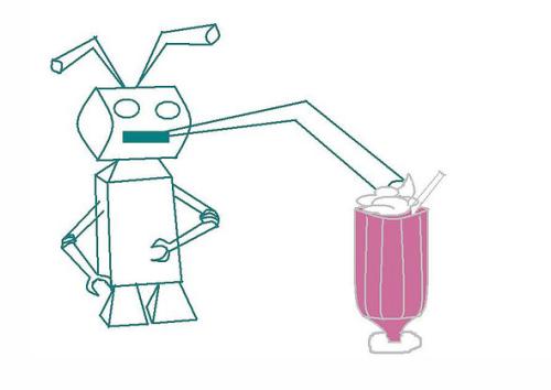 bro-bot milkshake
